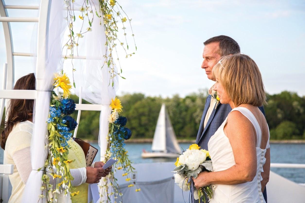 Catherine Marie wedding couple