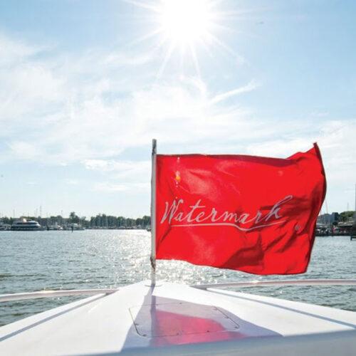 Watermark flag on Cabaret II