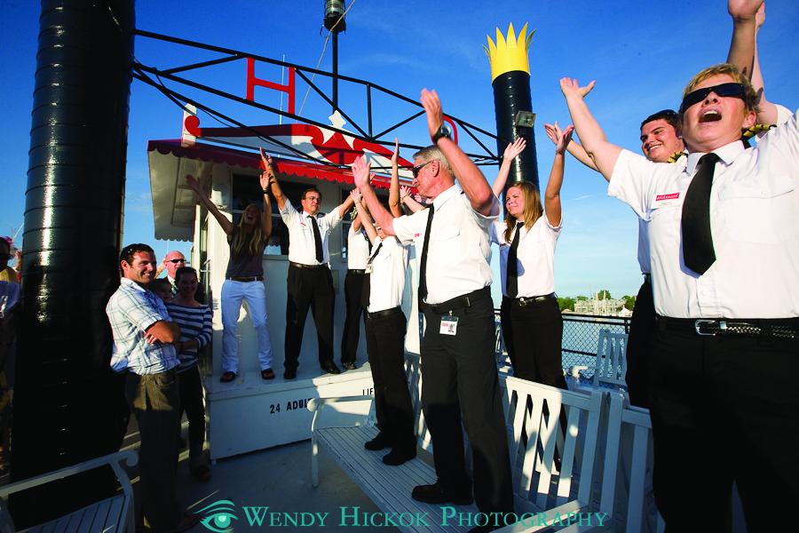 Harbor Queen Dancing